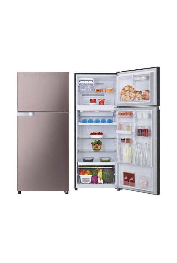 Toshiba ตู้เย็น Inverter 2 ประตู 14.6 คิว รุ่น GR-TG46KDZ(XK)